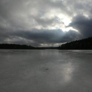 озеро Віно (зима)